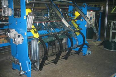 Maquina transformación de alambre